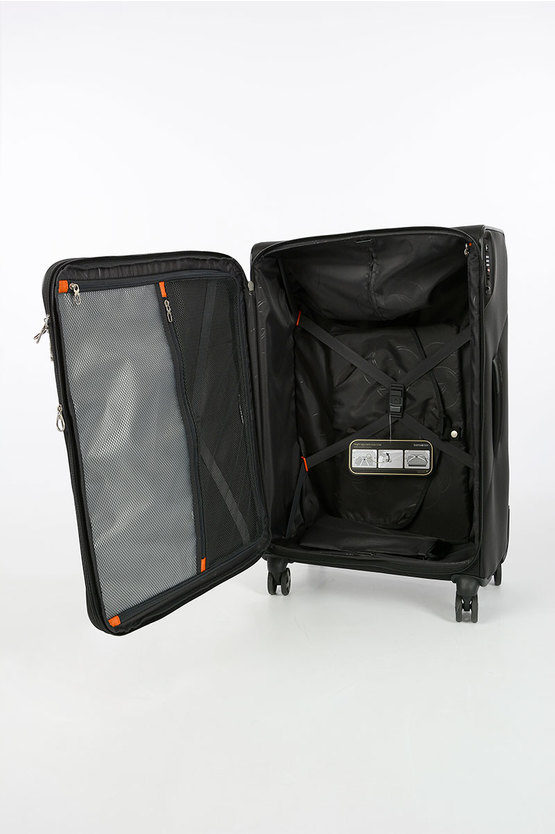 X BLADE 3.0 Large Trolley 78cm 4W Expandable Black