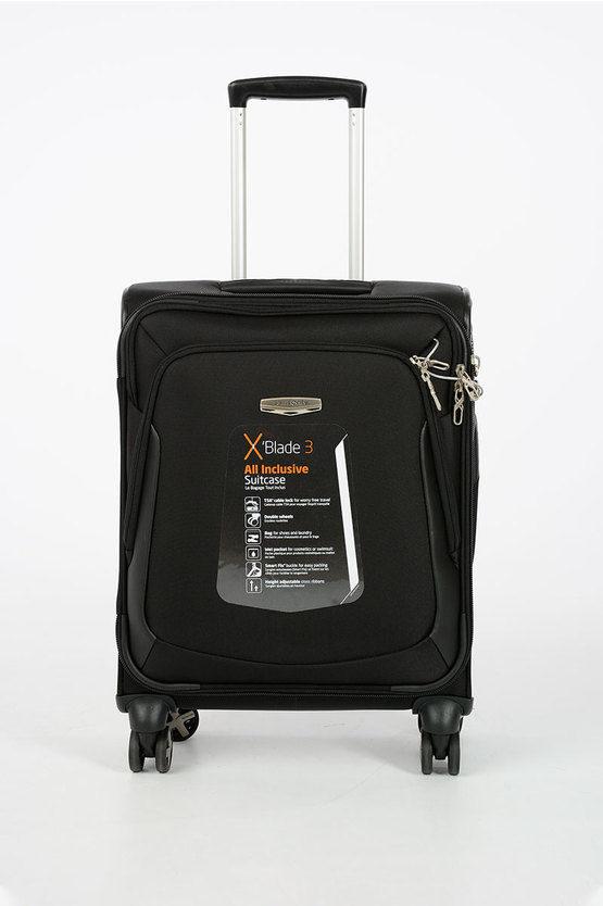 X BLADE 3.0 Trolley Cabina Soft 55cm 4R Nero