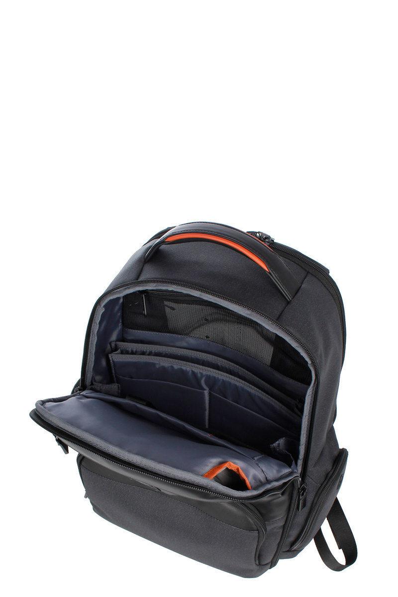 5d332aca8d3 ZENITH Laptop Backpack 15.6'' Black Samsonite men - Cuoieria Shop On ...