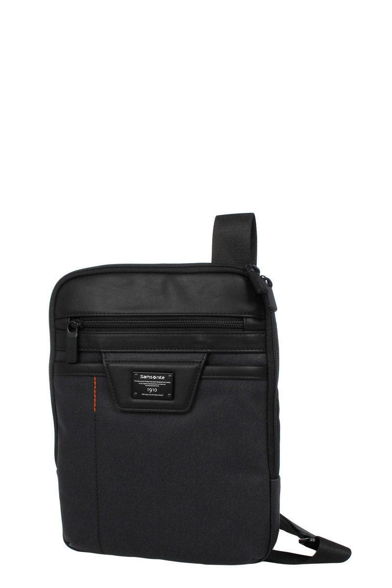 0151511e9cf ZENITH Tablet Crossover 9.7'' Black Samsonite men - Cuoieria Shop On ...