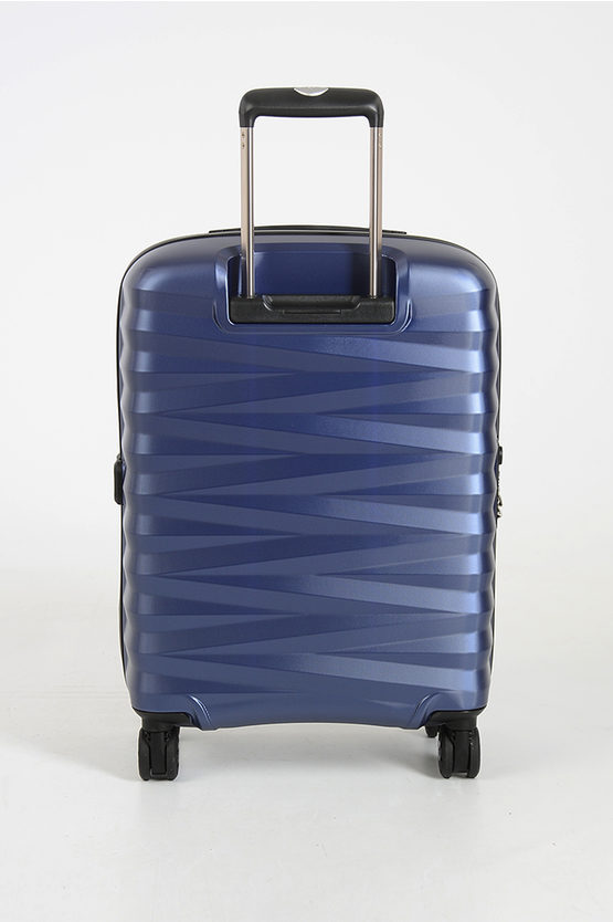 ZETA Cabin Trolley 55cm 4W Blue