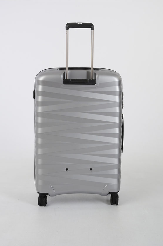 ZETA Medium Trolley 4W Silver