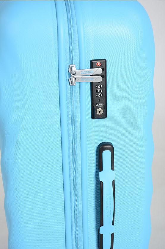ZIGGZAGG Large Trolley 77cm 4W Spring Blue