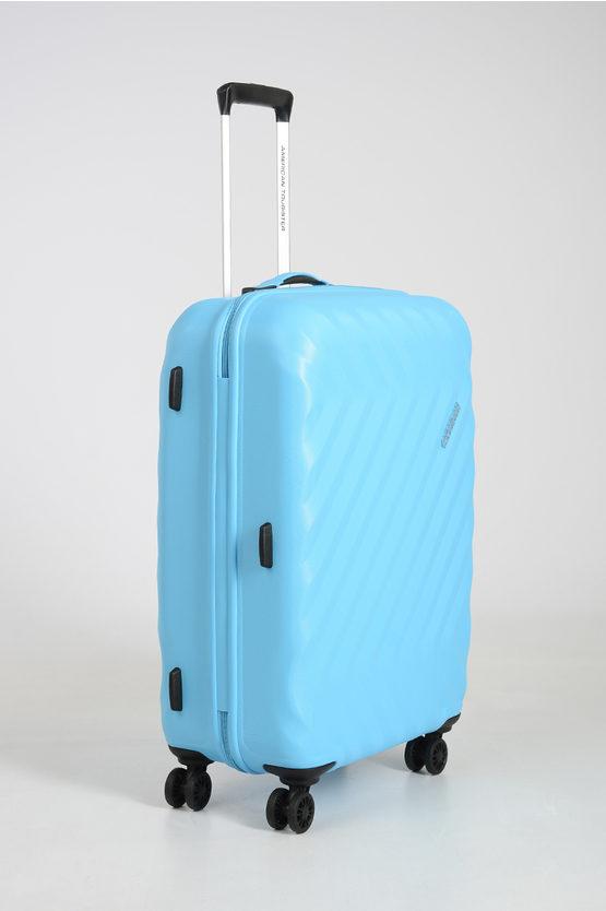 ZIGGZAGG Medium Trolley 67cm 4W Spring Blue