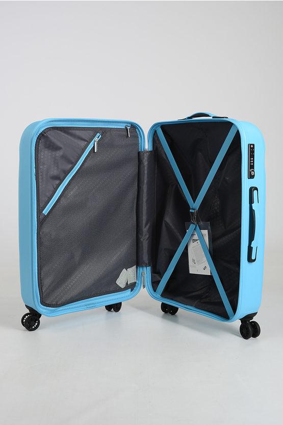ZIGGZAGG Trolley Medio 67cm 4R Spring Blue